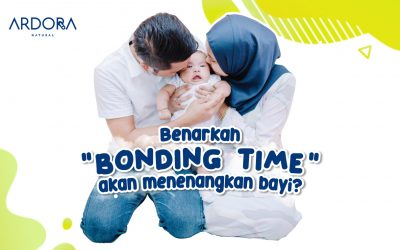 "Benarkah ""Bonding Time"" Akan Menenangkan Bayi ?"